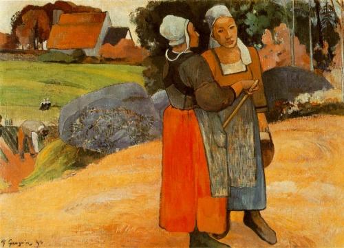 Paysannes bretonnes Paul Gauguin.jpg